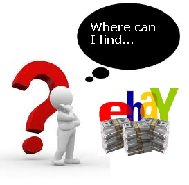Where to find things to sell on eBay