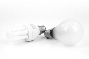 Saving energy using Fluorescent Light Bulbs