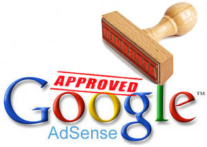 AdSense Application Approved
