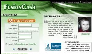 Fusion Cash Screenshot