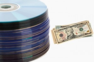 Recycling cds for money